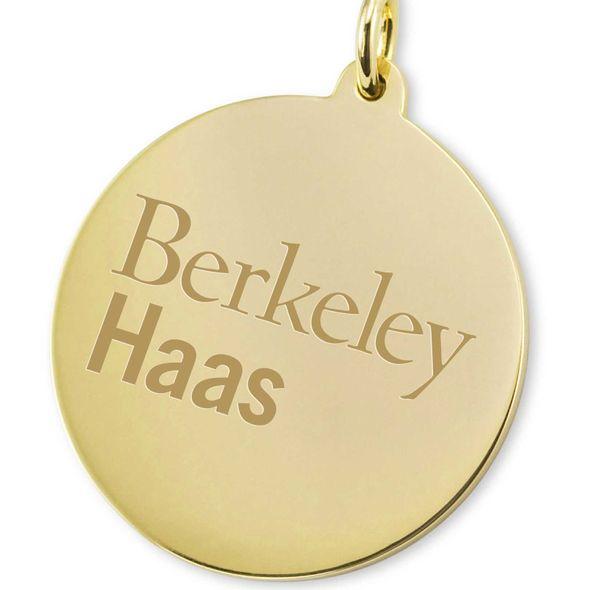 Berkeley Haas 18K Gold Charm - Image 2
