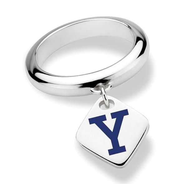 Yale University Sterling Silver Ring with Sterling Tag