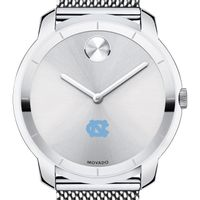 University of North Carolina Men's Movado Stainless Bold 44
