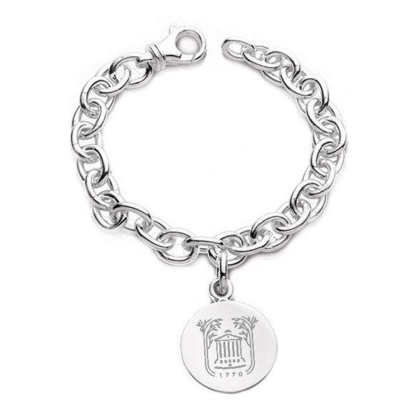 College of Charleston Sterling Silver Charm Bracelet