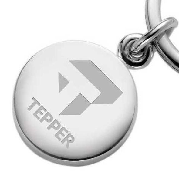 Tepper Sterling Silver Insignia Key Ring - Image 2