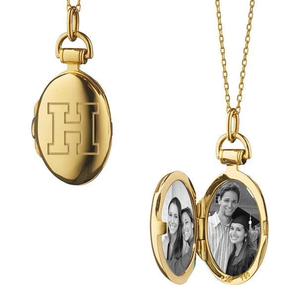 Harvard Monica Rich Kosann Petite Locket in Gold - Image 2