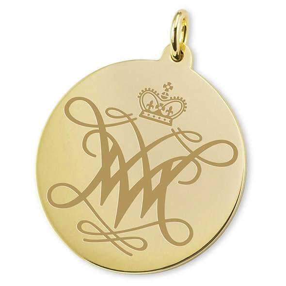 William & Mary 14K Gold Charm - Image 2