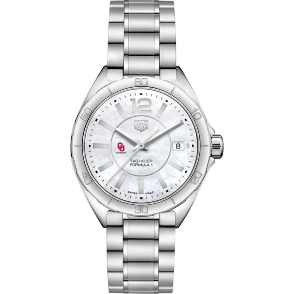 University of Oklahoma Women's TAG Heuer Formula 1 with MOP Dial - Image 2