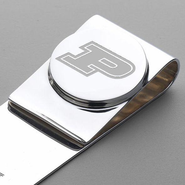 Purdue University Sterling Silver Money Clip - Image 2