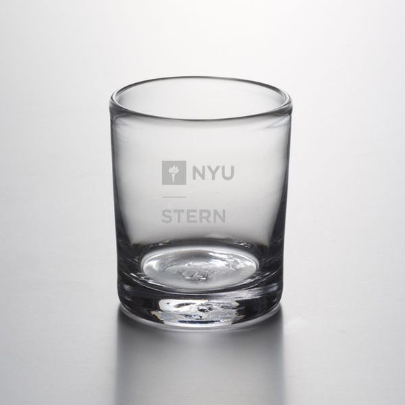 NYU Stern Double Old Fashioned Glass by Simon Pearce - Image 1
