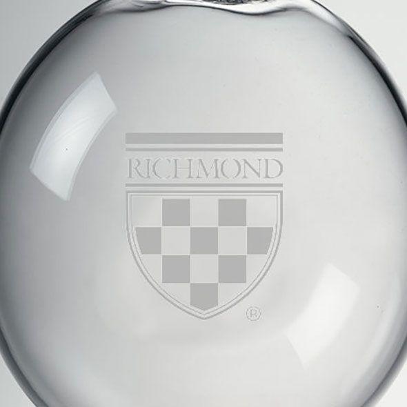 University of Richmond Glass Ornament by Simon Pearce - Image 2