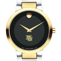 Marquette Men's Movado Two-Tone Modern Classic Museum with Bracelet