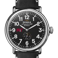 MIT Shinola Watch, The Runwell 47mm Black Dial