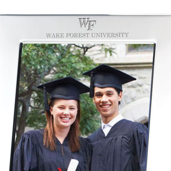 Wake Forest Polished Pewter 5x7 Picture Frame - Image 2