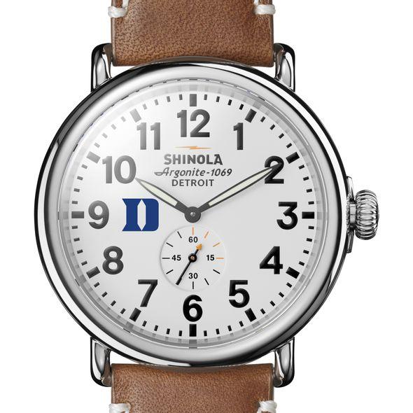 Duke Shinola Watch, The Runwell 47mm White Dial