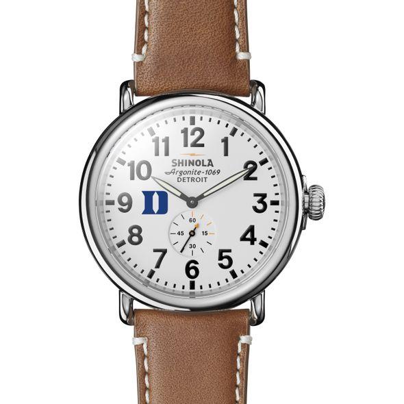 Duke Shinola Watch, The Runwell 47mm White Dial - Image 2