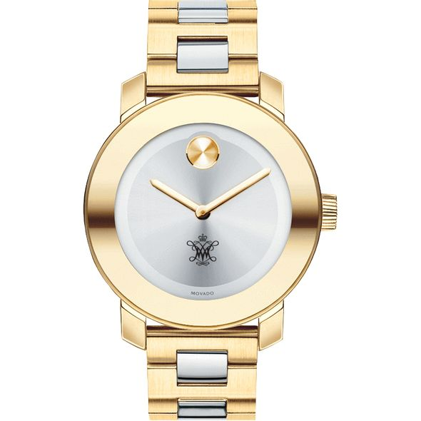 College of William & Mary Women's Movado Two-Tone Bold - Image 2