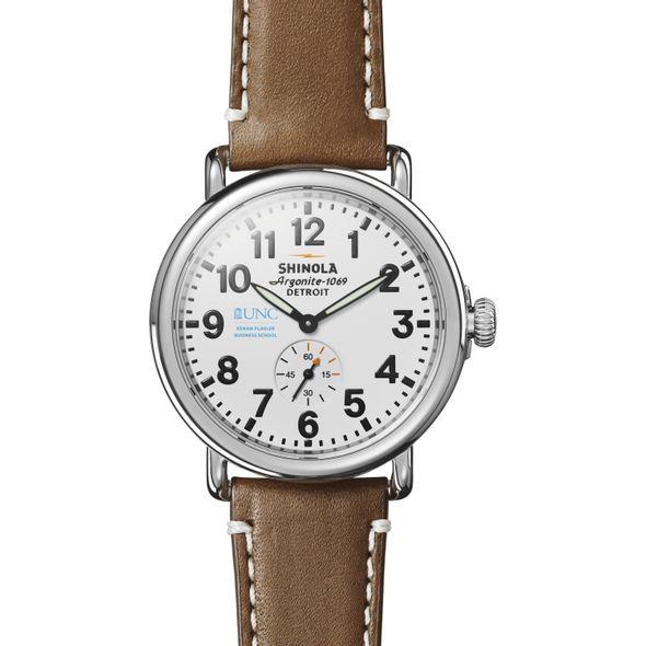 UNC Kenan-Flagler Shinola Watch, The Runwell 41mm White Dial - Image 2