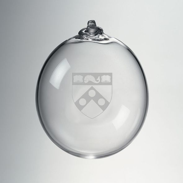 Penn Glass Ornament by Simon Pearce