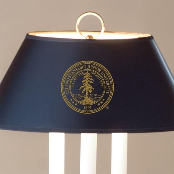Stanford University Lamp in Brass & Marble - Image 2