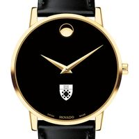 Yale SOM Men's Movado Gold Museum Classic Leather