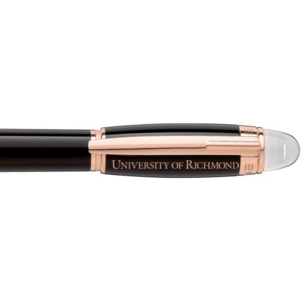 University of Richmond Montblanc StarWalker Fineliner Pen in Red Gold - Image 2