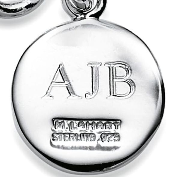 Georgia Sterling Silver Insignia Key Ring - Image 3