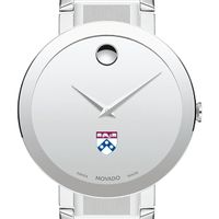 University of Pennsylvania Men's Movado Sapphire Museum with Bracelet