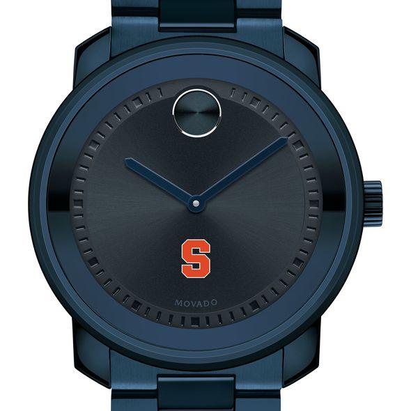 Syracuse University Men's Movado BOLD Blue Ion with Bracelet