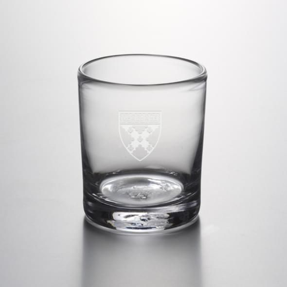 Harvard Business Double Old Fashioned Glass by Simon Pearce