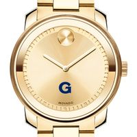 Georgetown University Men's Movado Gold Bold