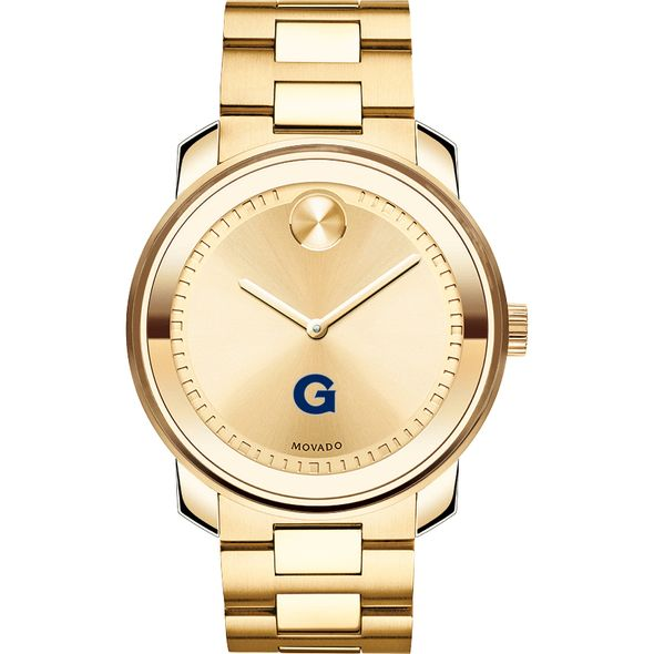 Georgetown University Men's Movado Gold Bold - Image 2