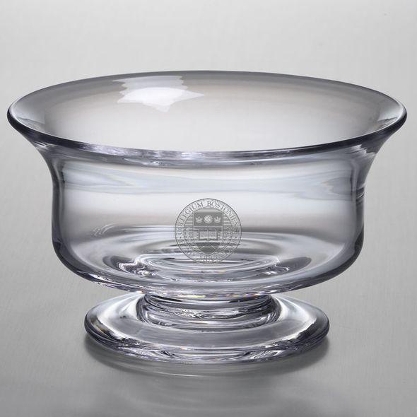 Boston College Simon Pearce Glass Revere Bowl Med