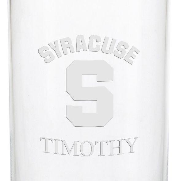 Syracuse University Iced Beverage Glasses - Set of 2 - Image 3