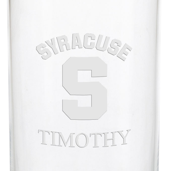 Syracuse University Iced Beverage Glasses - Set of 2 - Image 3
