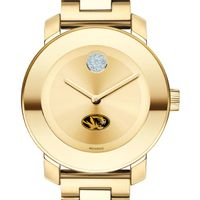 University of Missouri Women's Movado Gold Bold