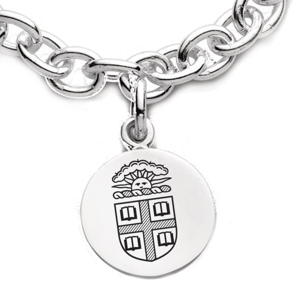 Brown Sterling Silver Charm Bracelet - Image 2