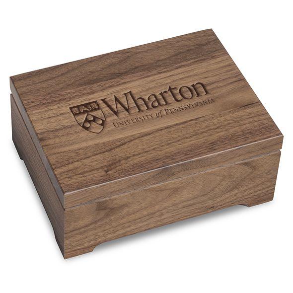 Wharton Solid Walnut Desk Box