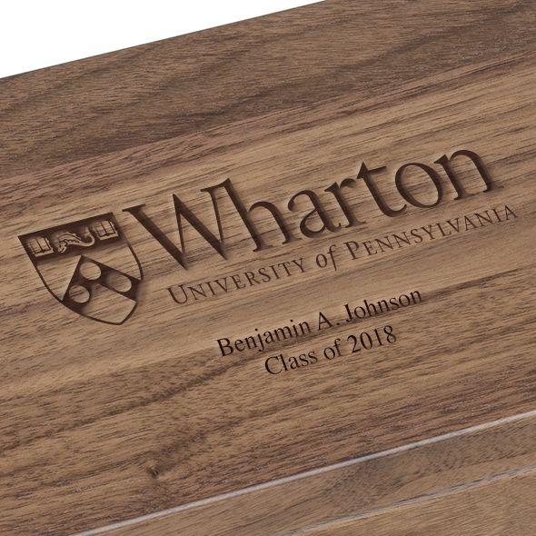 Wharton Solid Walnut Desk Box - Image 3