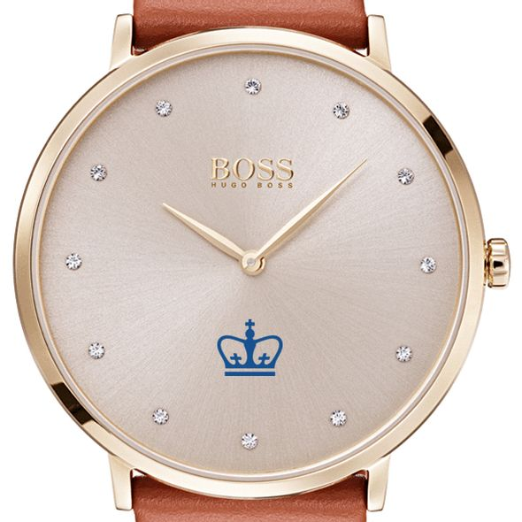 Columbia University Women's BOSS Champagne with Leather from M.LaHart - Image 1