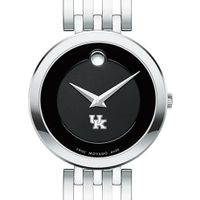 University of Kentucky Women's Movado Esparanza Stainless Steel Museum with Bracelet