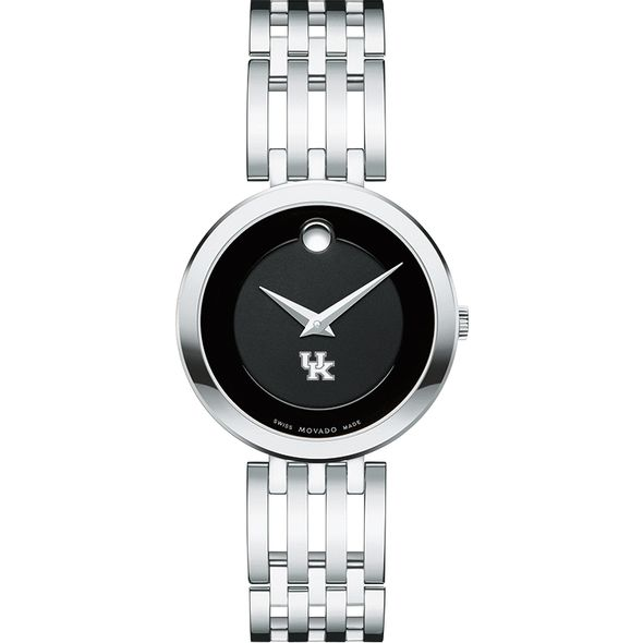 University of Kentucky Women's Movado Esparanza Stainless Steel Museum with Bracelet - Image 2