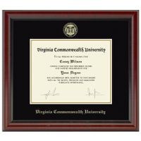 Virginia Commonwealth University Diploma Frame, the Fidelitas