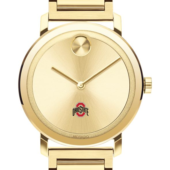 Ohio State Men's Movado Bold Gold with Bracelet - Image 1