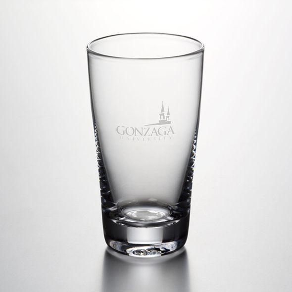 Gonzaga Ascutney Pint Glass by Simon Pearce