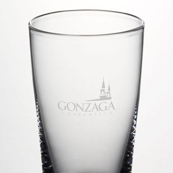 Gonzaga Ascutney Pint Glass by Simon Pearce - Image 2