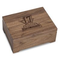 Alabama Crimson Tide 2017 National Championship Solid Walnut Desk Box