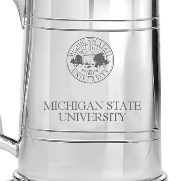 Michigan State Pewter Stein - Image 2