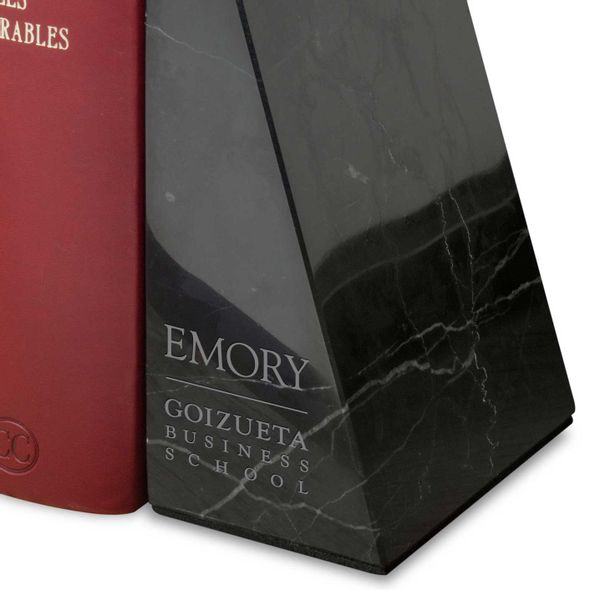 Emory Goizueta Marble Bookends by M.LaHart - Image 2