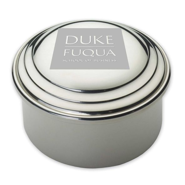 Duke Fuqua Pewter Keepsake Box - Image 1