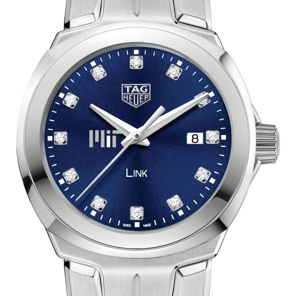 MIT Women's TAG Heuer Link with Blue Diamond Dial