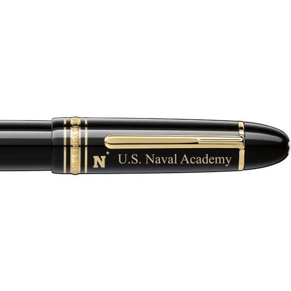 USNA Montblanc Meisterstück 149 Fountain Pen in Gold - Image 2