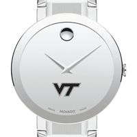Virginia Tech Men's Movado Sapphire Museum with Bracelet