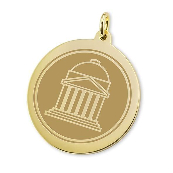 SMU 14K Gold Charm